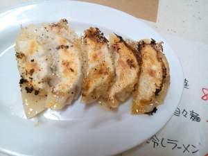 武蔵小杉「お肉屋さんのラーメン家 生治ミート」の「餃子」