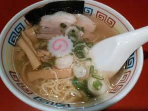 新横浜「かもめ食堂」(ラーメン博物館内)の「ミニ 潮味」